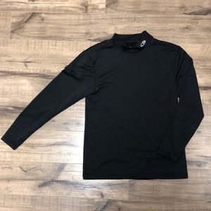 Champion Long-Sleeve Black Dri-Fit Shirt